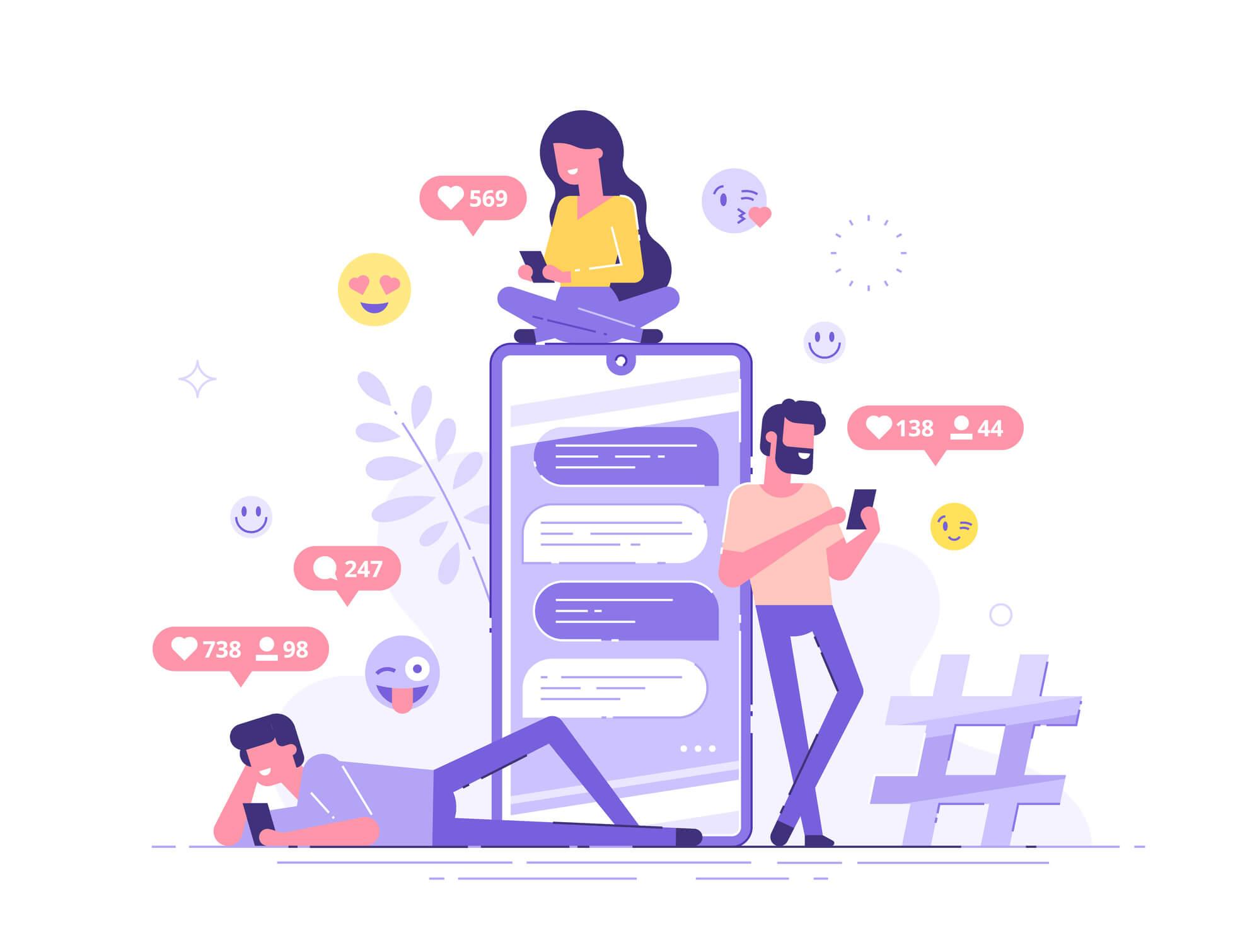 Redes Sociales M3estrategia